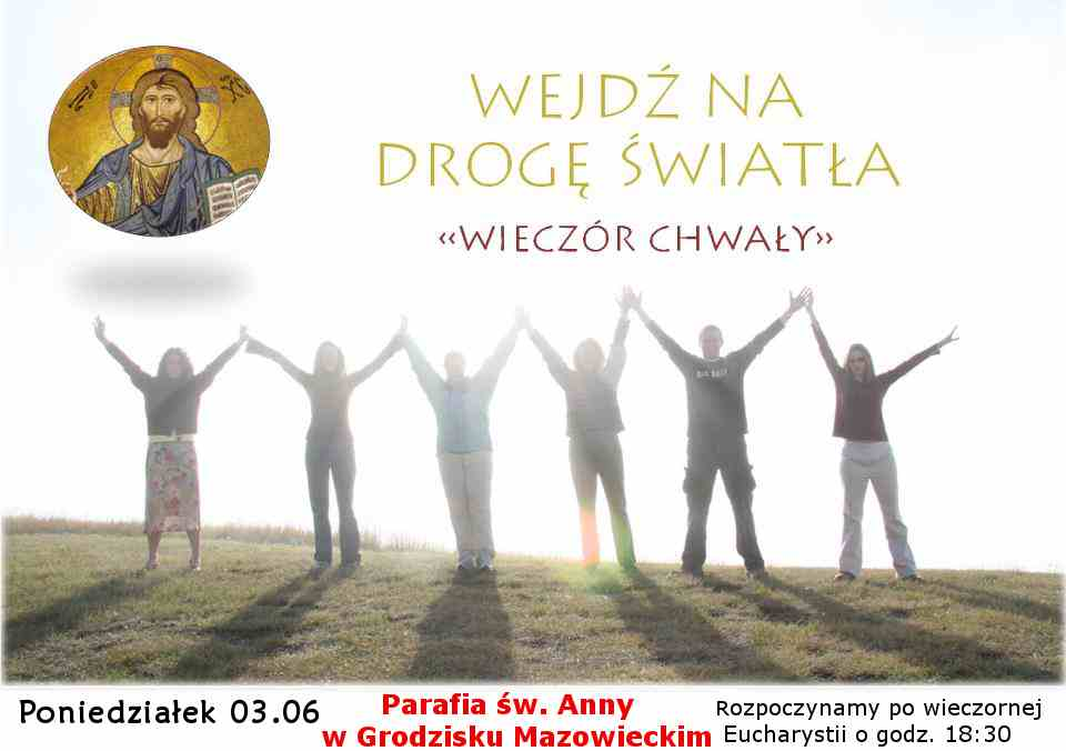 Adoracja i uwielbienie Jezusa w Najświętszym Sakramencie